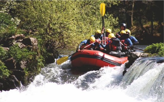 Nearby attraction - river rafting - Shahapur